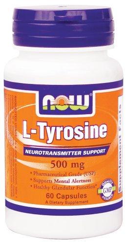 Aliments - L-Tyrosine gratuit font maintenant 500 mg - 60 Capsules.