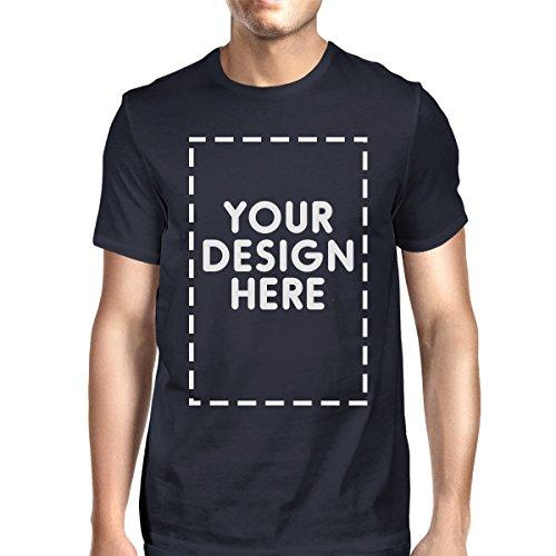 365 Printing Mens/Unisex Custom T-Shirt Personalized Shirt Your Design Here Navy