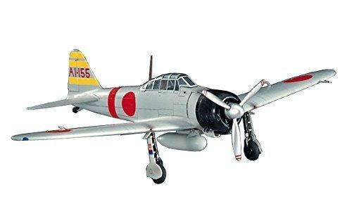 Hasegawa 1:72 Scale A6M2 Zero Fighter Type 21 Model Kit by Hasegawa