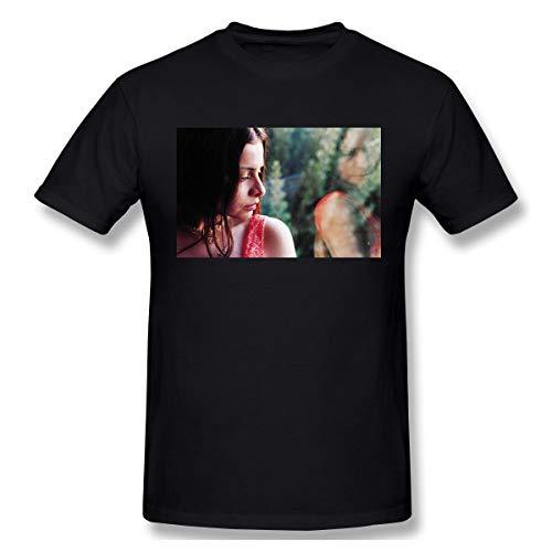 Riufg Men's Mazzy Star Cotton T ShirtBlack L
