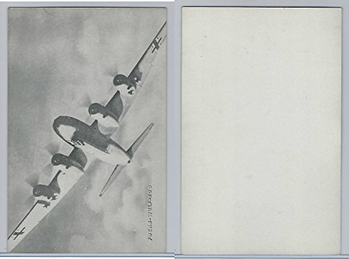 , WW II Airplanes (5X8 in), Focke-Wulf 200 (Focke Wulf Airplane)