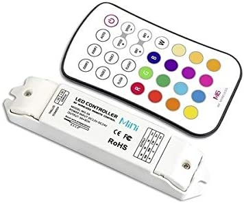 LTech M6+M3-3A LED RF 3 Channel RGB Wireless Remote /& Controller Set with Button Presets 3x3A