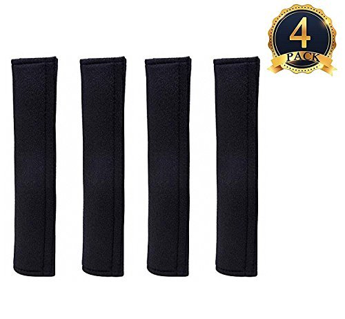 AIR SIX for 4 Pack Universal Car Safety SeatBelt Shoulder Strap Pad Soft Headrest Neck Support Pillow Cover Cushion,No Slip,No Rubbing - A Must Have for All Car Owners for a More Comfortable Driving