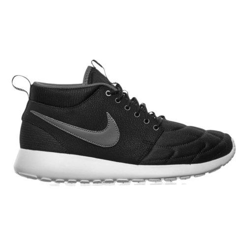 Nike Rosherun Mid unisex adulto, pelle liscia, sneaker alta, 42.5 EU