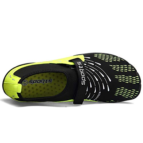 Men Zcoli Beach Women Swim Shoes for Water Quick Dry Surf Green Exercise Yoga Barefoot ZrZwPqg