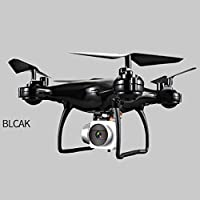 NXDA 1800mAh High Capacity Battery 0.3MP 4CH 6-Axis Headless Mode RC Helicopter Drone (Black)