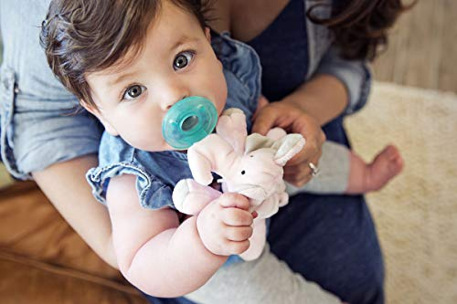 WubbaNub Infant Pacifier - Pink Elephant by WubbaNub (Image #5)