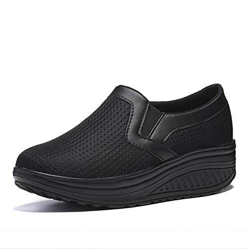 D Chaussures Chaussu Slip de Printemps amp; Secouer Automne Chaussures Mocassins Mocassins Fitness Sneakers Shake Ons Chaussures Femmes Chaussures Chaussures plats Maille sport Conduite Secouant Chaussures wYgxz14S