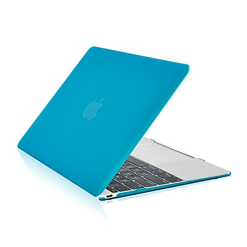 TOP CASE - Rubberized Hard Shell Case Cover Compatible with MacBook 12