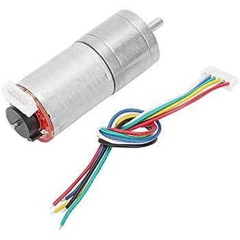 Encoder Gear Motor 30 DC 24V Gear Motor Speed Reduction Motor for Robot RC Car DIY Engine Toy