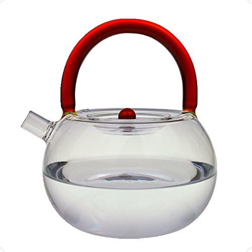 Cunzhai Galss Teapot 30 Oz Tea Maker Stovetop Safe Tea Kettle