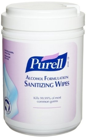 GOJO Purell Sanitizing Skin Wipe - 9031-06CN - 175 Wipes / Canister by The Palm Tree Group