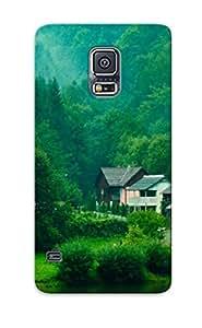 Disportpal Galaxy S5 Hybrid Tpu Case Cover Silicon Bumper Green Neighborhood