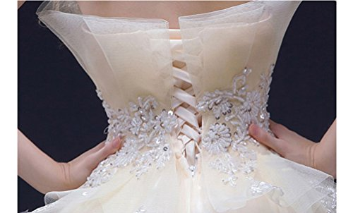 Customized Gown Emily Beaded Ball Dresses Wedding Beauty White Tulle zqRXaaw