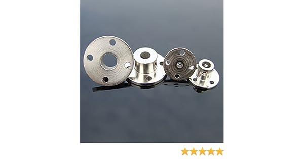 Winwill/® Acoplamiento de la Brida r/ígida de 5 mm Motor del acoplador del Eje del Motor Conector del Motor
