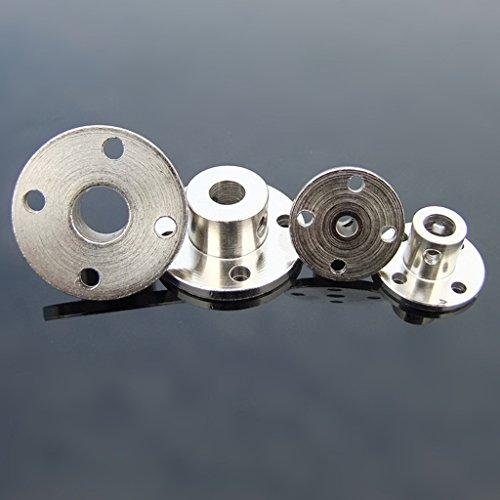 1Pc 8mm Rigid Flange Coupling Motor Guide Shaft Coupler Motor Connector