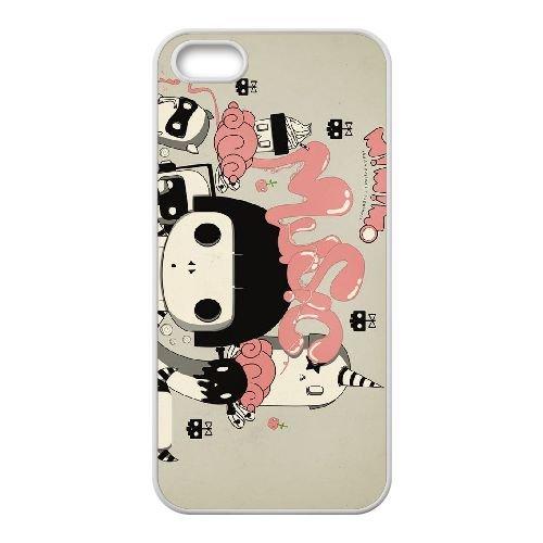 M4L55 mimimo les voleurs mélodie K8X2VJ coque iPhone 4 4s cellulaire cas de téléphone couvercle coque blanche FP6LEP8NT