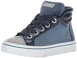 Hi-Lite-Velvet with Rhinestone Sneaker