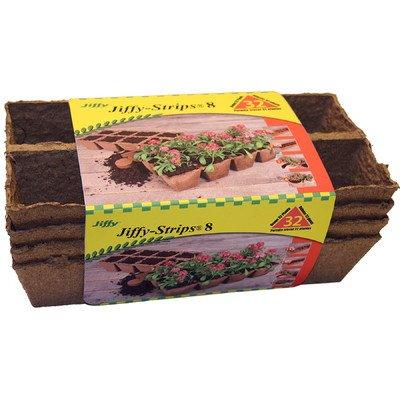 Jiffy-Strips Peat Plant Pots