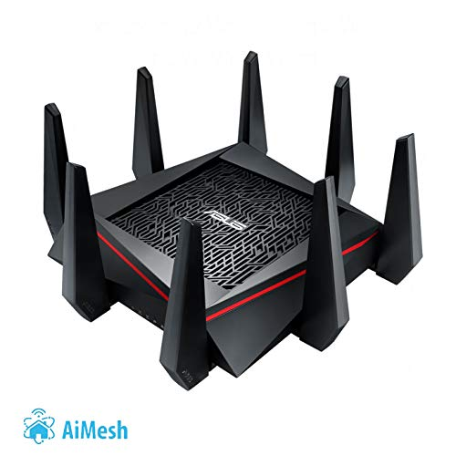 Asus RT-AC5300 WIRELESS-AC5300 TRI-BAND GIGABIT ROUTER, 90IG0201-BM2G00 (TRI-BAND GIGABIT ROUTER)