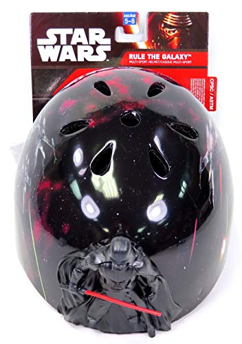 Bell Multi Sport Bike Helmet Star Wars Darth Vader Figure