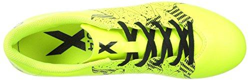 adidas X 15.4 FXG - Botas para hombre Lima / Negro