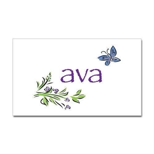 CafePress Ava Rectangle Sticker Sticker Rectangle - Standard