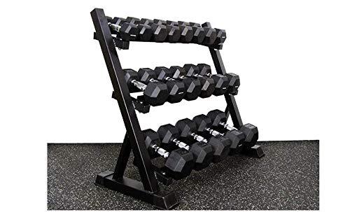 H-TRAINING Muscle Training ダンベル ラック 収納可能 ダンベル 3段ダンベル ラック Strength(海外直送品)   B07P5G9B93