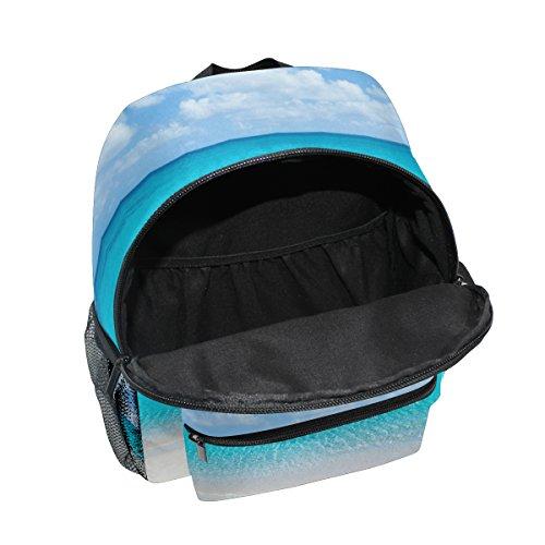 Boy Toddler School Bag Backpack Pre Kids Tropical Sea for Kindergarten ZZKKO Beach Girls Ocean wPqC70