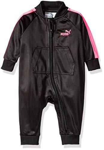 PUMA Baby Girls' Fleece Pram, Black, 3-6M