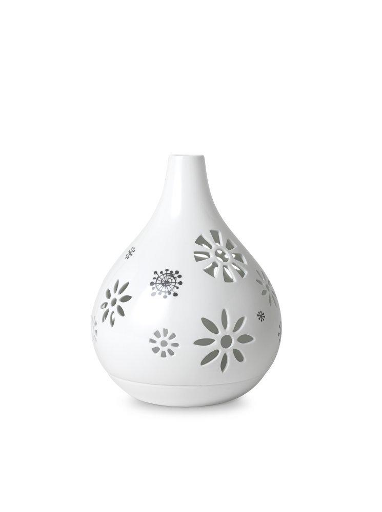 Bjørn Wiinblad - Teelichthalter H 22 cm, weiß