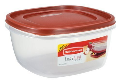 Rubbermaid - Easy-Find Lid Food Storage Container, 14-Cups, Pack of 2