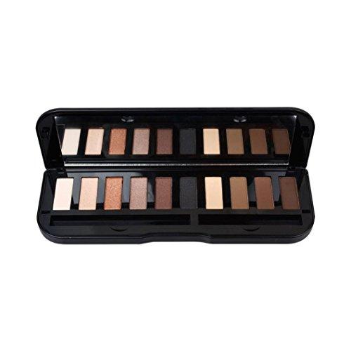 10 Colors Eye Shadow Makeup, Cosmetic Shimmer Matte Eyeshado