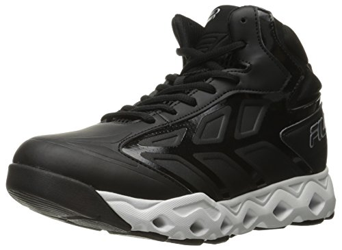 Fila Men's Torranado Men's Footwear Black - White - Metallic Silver