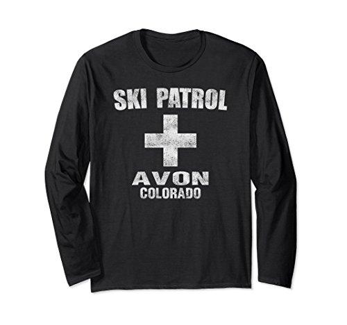 l Avon Colorado Ski Patrol T Shirt Medium Black (Avon T-shirt T-shirts)