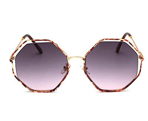 cine estilo irregular europeo de f sol d Gafas RDJM americano color y para mujer de Gafas pPXwx7f