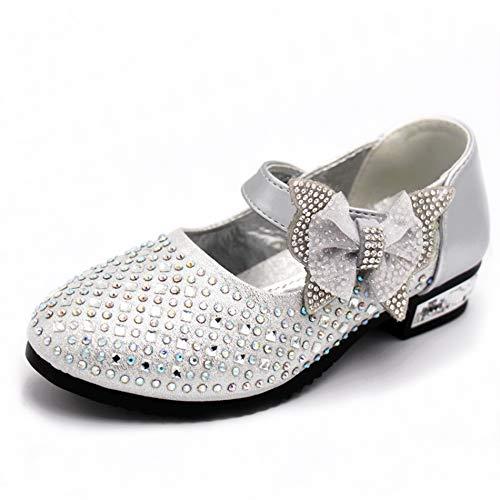 Kikiz Toddler Girl's Princess Dress Shoes Kids Mary Jane 9 M US Toddler]()