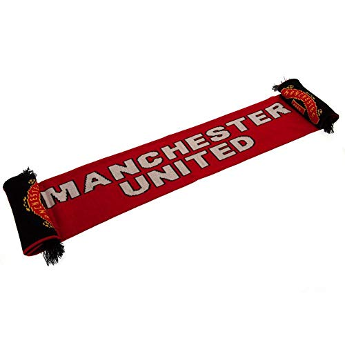 (Manchester United FC Supporters Scarf - Authentic EPL from the)