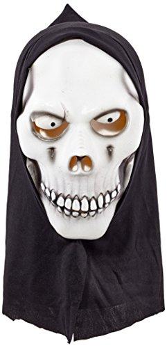 widmann 00365 'Morte Fluorescente'Mask Adult-One Size