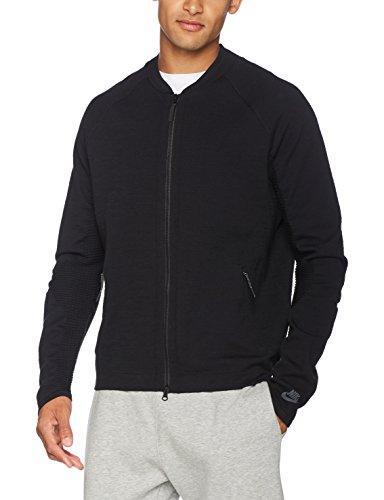 Nike Sportswear Tech Knit Men's Jacket (Large, Black)