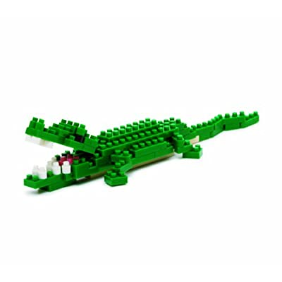 Nanoblock Nile Crocodile: Toys & Games