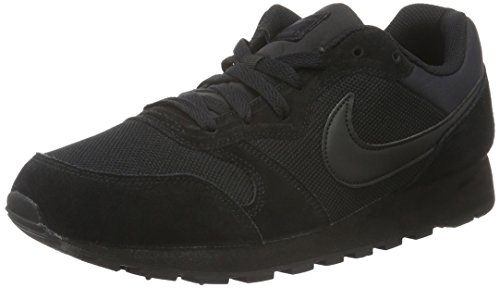 Nike-Mens-MD-Runner-2-Running-Shoes-115-DM-US-Black