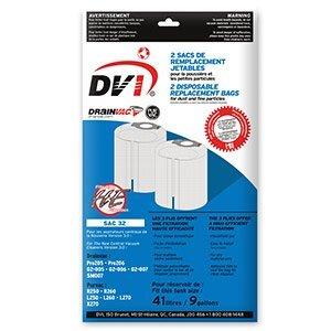 Amazon.com: drainvac dvsac-32 Bolsa para aspiradora, parte ...