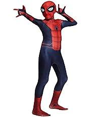 Kids Cosplay Spiderman Kostuum Kind Spiderman Homecoming Halloween Carnaval Cosplay Spiderman Pak Lycra 3D Print Themafeest Film Kostuum Props