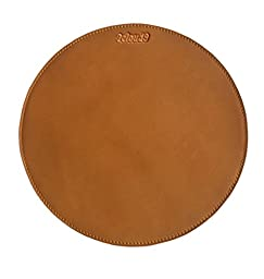 2cloud9 Genuine Leather Mouse Pad with Suede Leather Backing