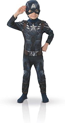 Rubies - Disfraz infantil Capitán América Winter Soldier Classic ...