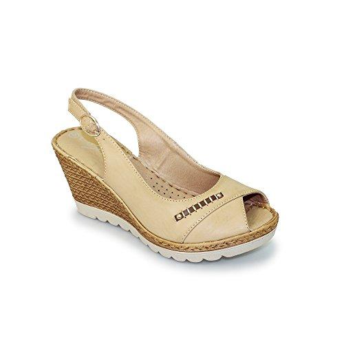 Lunar pour Sandales pour Femme Lunar peau Sandales nTqn0B8aw