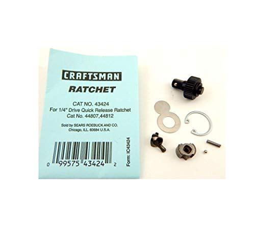0.25'' Dr Ratchet Rebuild Kit Set Compatible w/Craftsman 4XXX Series US Made Quick Delivery