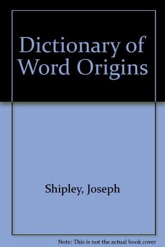 dictionary of word origins pdf