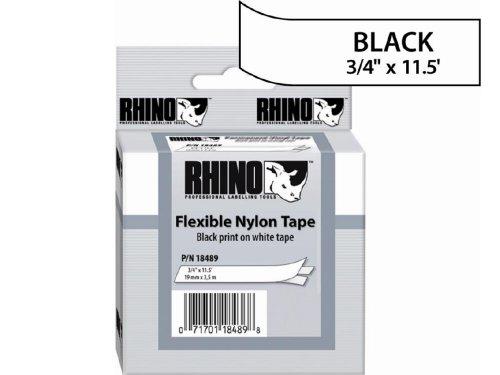 Sanford LP : RHINO 3/4 WHITE FLEXIBLE NYLON ()